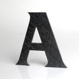 """KATEON Domovní číslo popisné Břidlice FRANCE - písmeno """"A"""""""