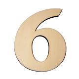 Domovní číslo popisné dřevo č. 6 KATEON